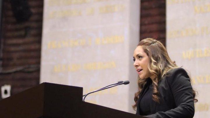 Impulsa diputada federal Carmen Peláez, incrementar sanciones por violencia intrafamiliar