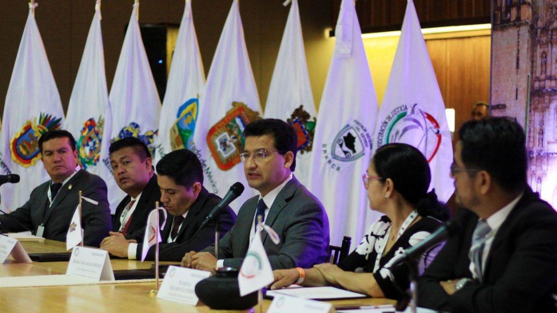 Dice Fiscalía General que reduciendo impunidad abate índices de delitos en Oaxaca