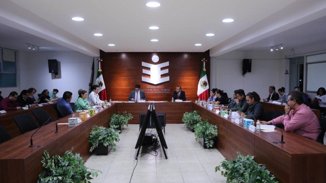 Califica IEEPCO elecciones de sistemas normativos 2019