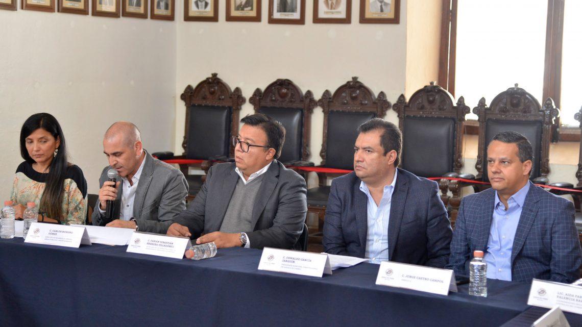 Instalan Consejo Municipal de Ordenamiento Territorial y Desarrollo Urbano