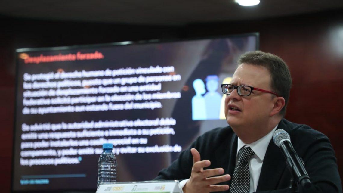 """Dice el magistrado Felipe de la Mata que el TEPJF se encuentra """"totalmente unido"""""""