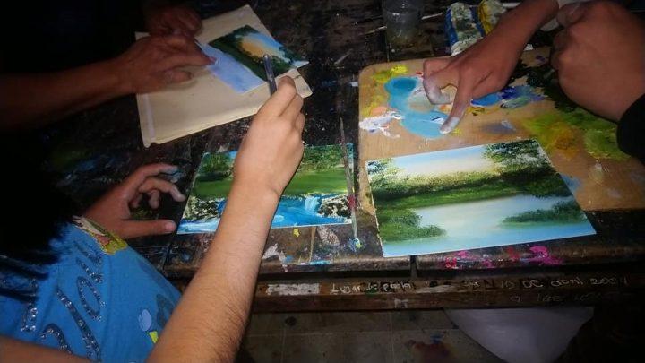 """La Casa de Cultura """"Heberto Castillo"""" de San Jacinto Amilpas continúa brindando diferentes talleres para el desarrollo de niños y jóvenes"""