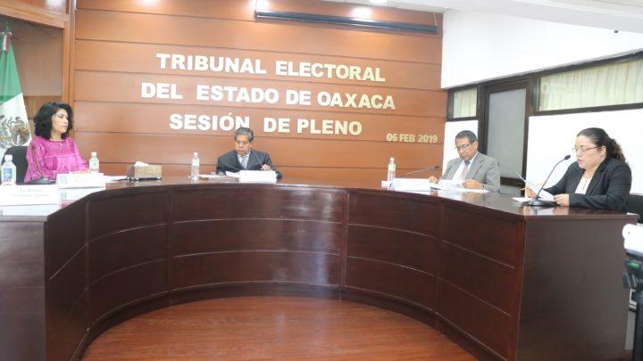 Ordena TEEO a Consejo General del IEEPCO efectué la calificación de la elección municipal de Mixistlán de la Reforma