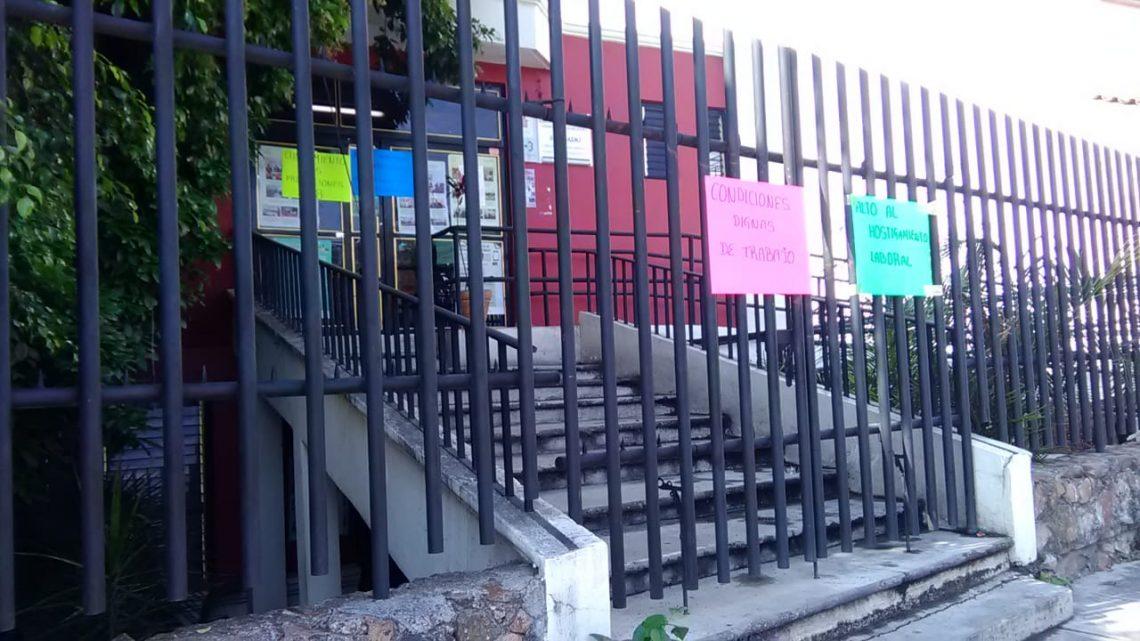 Empleados del PJEO tomaron juzgados en Huajuapan