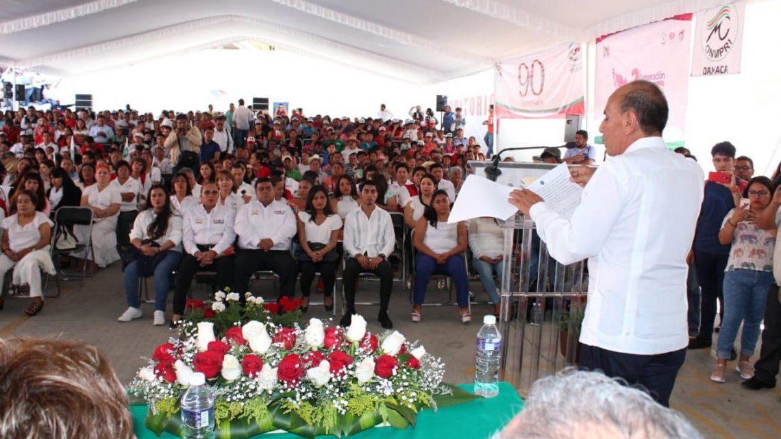 """Dice Jorge González que """"en Oaxaca el PRI avanza"""""""