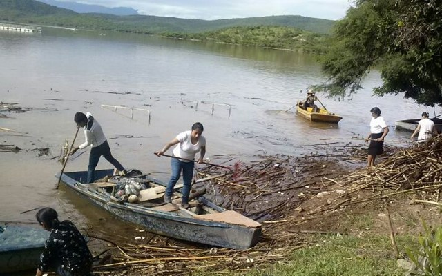 Preocupa contaminación de Río que desemboca en la Presa de Yosocuta