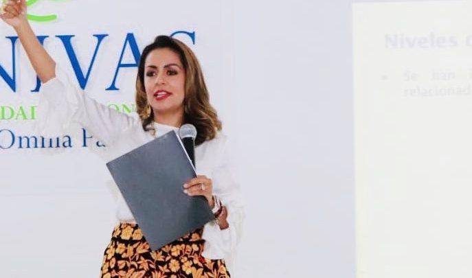 """""""Hemos avanzado en el número de mujeres en cargos, pero la realidad exige redoblar esfuerzos y seguir en la ruta de derrotar desigualdades y eliminar brechas"""": Mariana Benítez"""