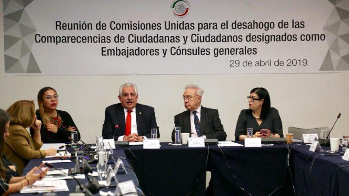 Ratifica Senado a Raúl Bolaños Cacho como cónsul de México en Sâo Paulo
