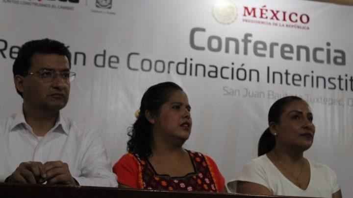 Presencia presidenta de Jucopo llegada de la Guardia Nacional a Oaxaca