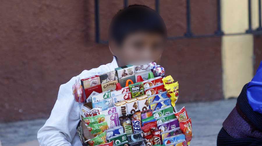 Preocupa explotación laboral infantil en Huajuapan