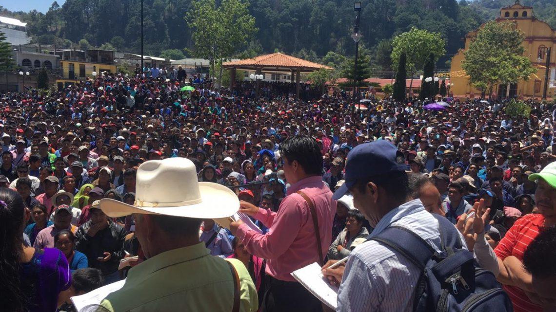 Oxchuc, primer municipio de Chiapas que elige a sus autoridades a través del régimen de Sistemas Normativos Indígenas