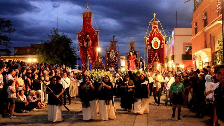 Vive las celebraciones de Semana Santa en la capital oaxaqueña