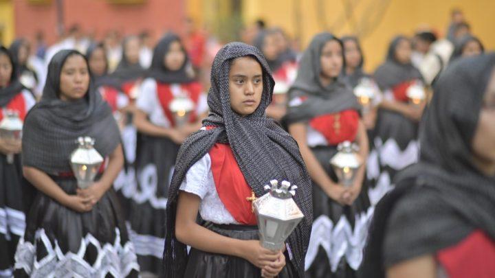 Se vivió la procesión del silencio en la capital oaxaqueña