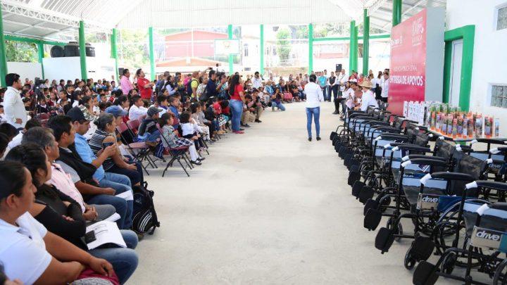 Por séptima ocasión DIF Estatal Oaxaca participa en audiencia pública ahora en la región de la cañada