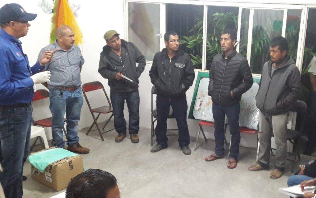 Despliega SSO cerco epidemiológico en San Sebastián Coatlán
