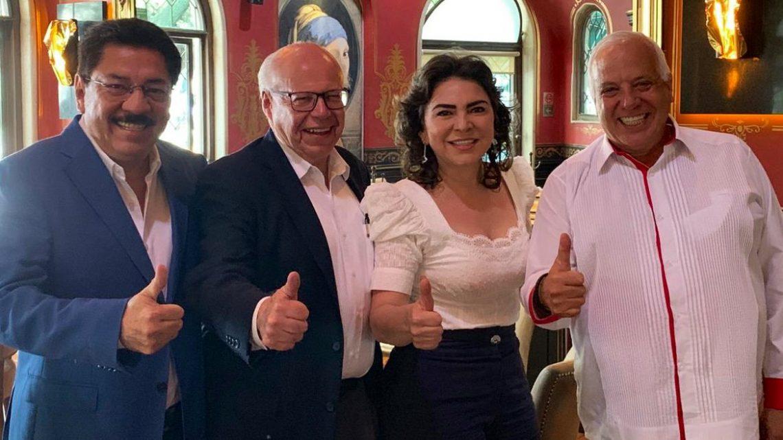 """Tras la renuncia de José Narro, Ulises Ruiz pide a gobernadores no meter las manos en el proceso interno, mientras Ivonne Ortega dice que """"no puede ganar la cúpula"""" del PRI"""