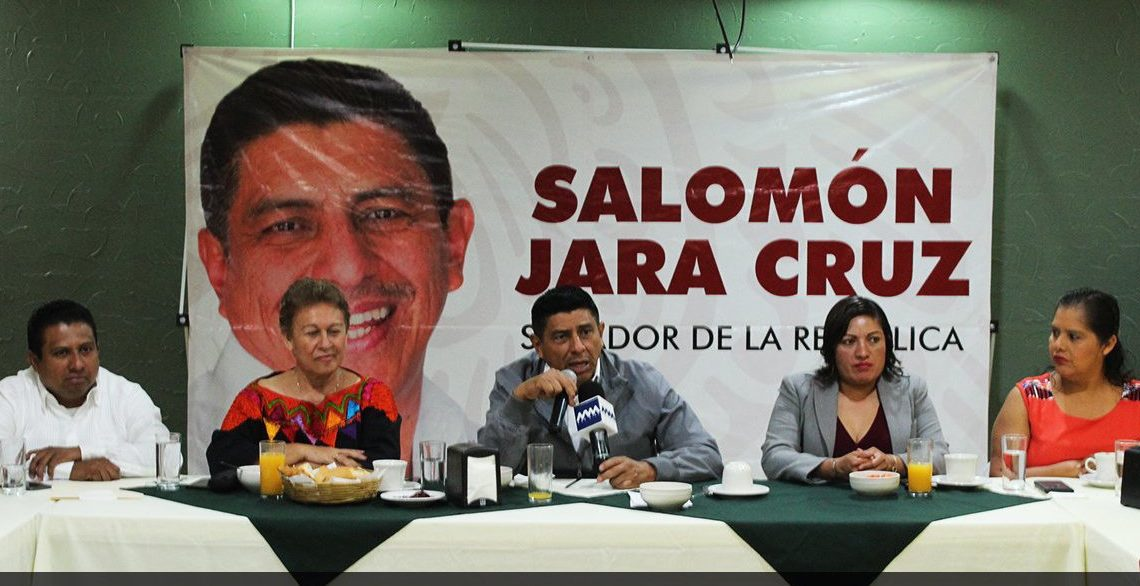 CRÓNICA POLÍTICA: Salomón Jara, ¿en campaña anticipada rumbo a la gubernatura de Oaxaca?