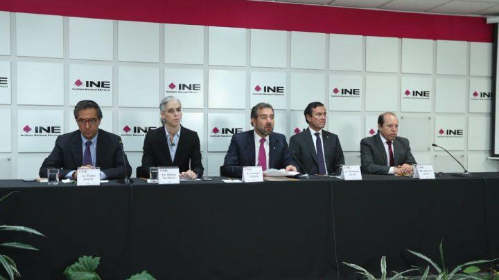 Elecciones del próximo 2 de junio se desarrollarán en paz y libertad: INE
