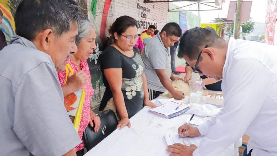 Trabajamos en equipo con las familias de la agencia de Montoya: DIF Estatal Oaxaca