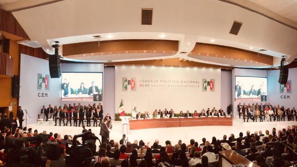 CPN del PRI autoriza emitir la convocatoria para la elección a la Presidencia y Secretaría General del CEN