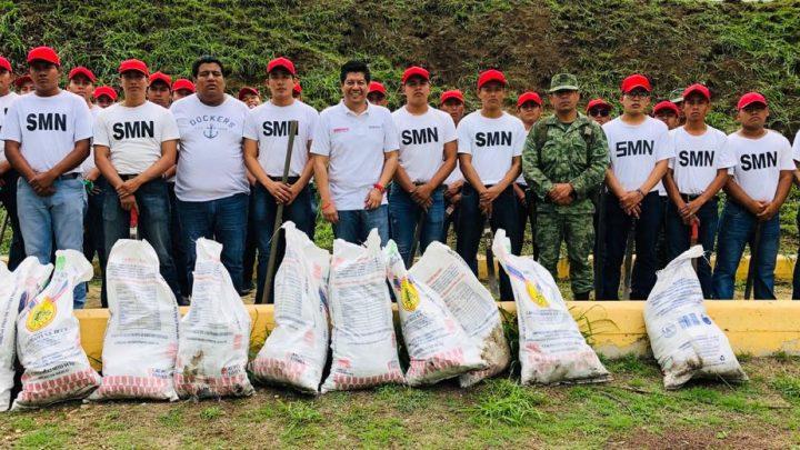 Por un Oaxaca Sustentable, limpian y reforestan: José Luis Calvo