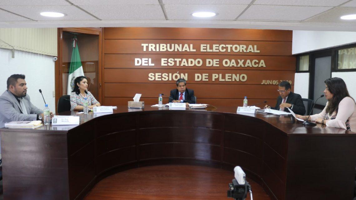Confirma TEEO método de elección de concejales del Municipio de Santa María Atzompa