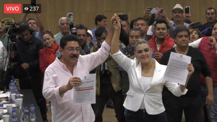 Siete fórmulas de aspirantes se registran para la elección interna a la dirigencia nacional del PRI