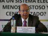La reforma electoral debe basarse en las necesidades del país: Enrique Andrade