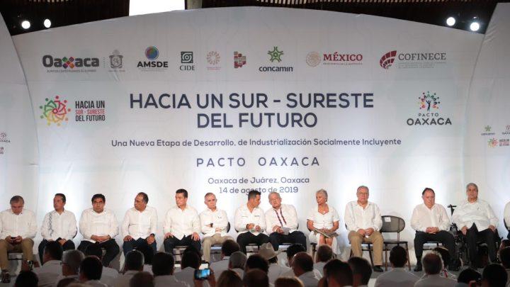 CRÓNICA POLÍTICA: Pacto-Oaxaca, los réditos políticos