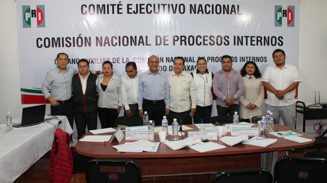 """Concluye cómputo en Oaxaca de elección de dirigencia nacional del PRI; participó el 82% del padrón priista y """"Alito"""" ganó por 117 mil 759 votos: Órgano Auxiliar"""