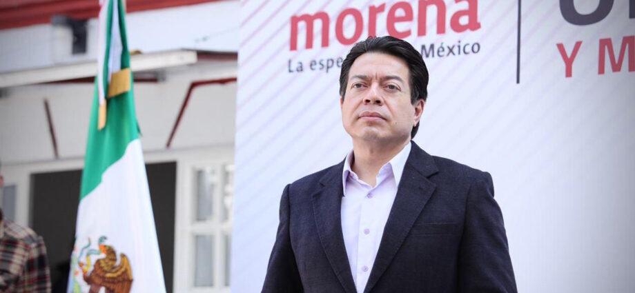 Mario Delgado anuncia que «independientemente de los resultados de la  consulta», Morena va contra los expresidentes – Rosy Ramales
